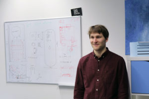 Arvid Reinwaldt, Duschkraft-Produktentwicklung. Foto: Ralph Schipke