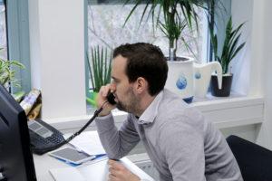 Stefan Goletzke, Duschkraft-Geschäftsführer. Foto: Ralph Schipke