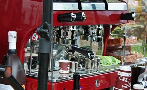 Das Franchise-System Coffee Bike gibt es seit 2011. Derzeit zählt das Unternehmen bundesweit mehr als 80 Franchise-Nehmer, davon vier in Mecklenburg-Vorpommern. Auch die Teilnahme an verschiedenen Veranstaltungen vermittelt die Zentrale an ihre Franchise-Nehmer kostenlos. Foto: Grit Gehlen