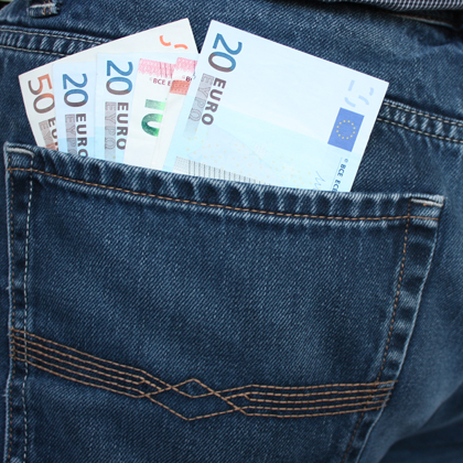 Sachzuwendungen, Pauschalierung, Ein kommenssteuer