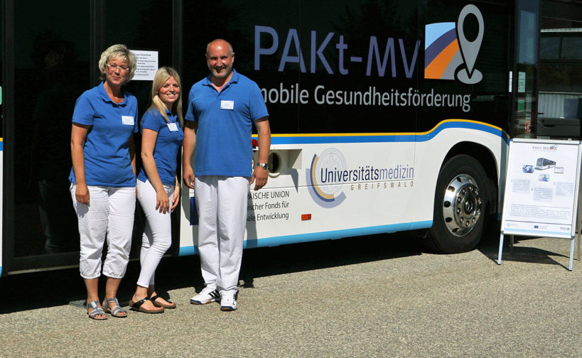 PAKt -MV mobil Gesundheitsbus