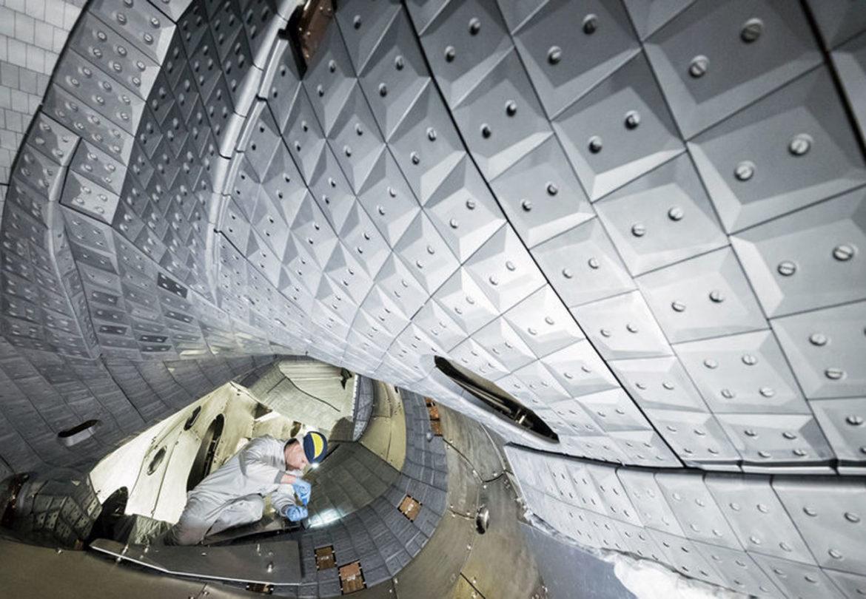 Fusionsanlage Wendelstein 7-X