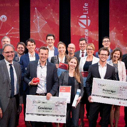 Alle Gewinner der Science4Life Venture Cup Businessplanphase.