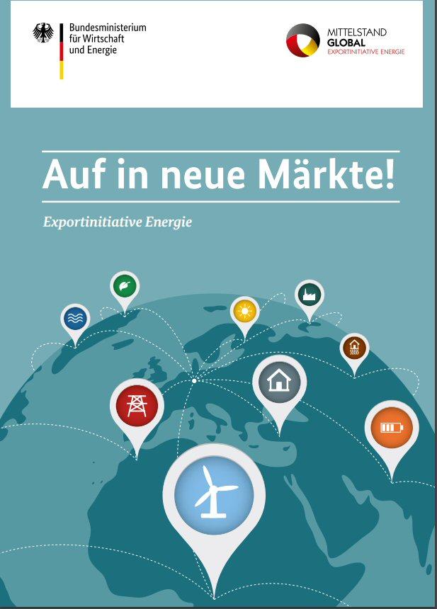 Exportinitiative Energieeffizienz