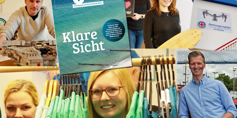 Kreative und innovative Startups im MV-Magazin