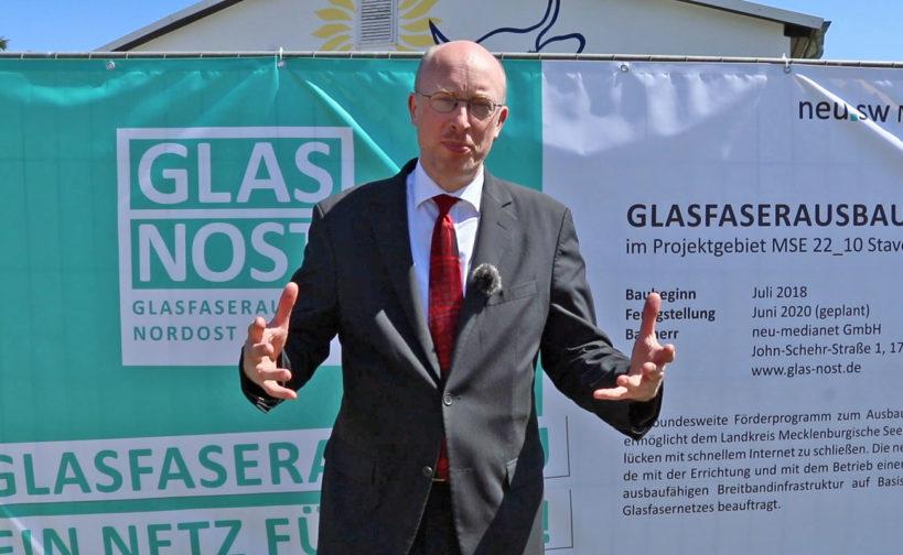 Digitalisierungsminister Christian Pegel. Foto: Ralph Schipke