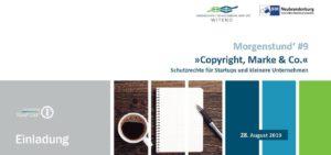 """Morgenstund' #9: """"Copyright, Marke & Co"""" @ Cowork Greifswald   Greifswald   Mecklenburg-Vorpommern   Deutschland"""
