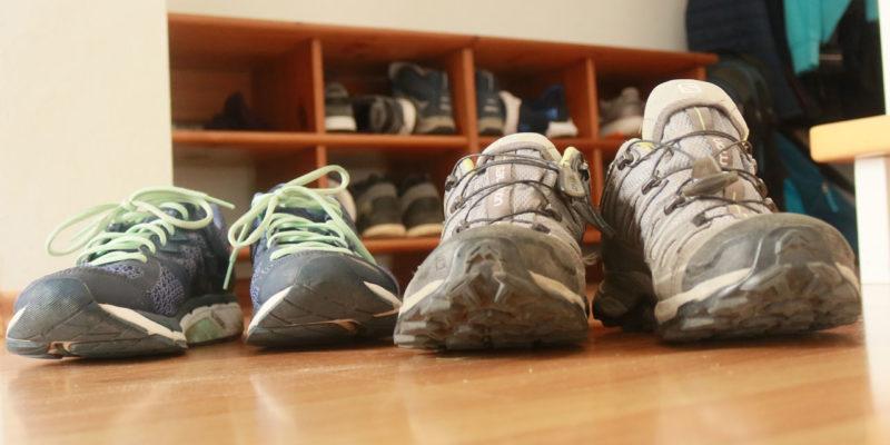 Schrittemacherin auf Wortwegen und in der Umgebung unterwegs